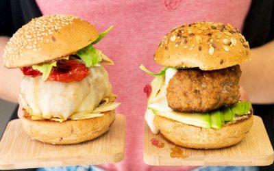 Gli hamburger di Blog Sfizioso e i panini soft di Waldkorn