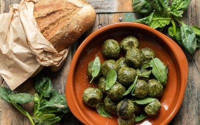 Canederli spinaci e pane raffermo